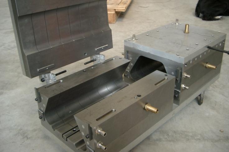 esempio di calibratore per estrusione plastica