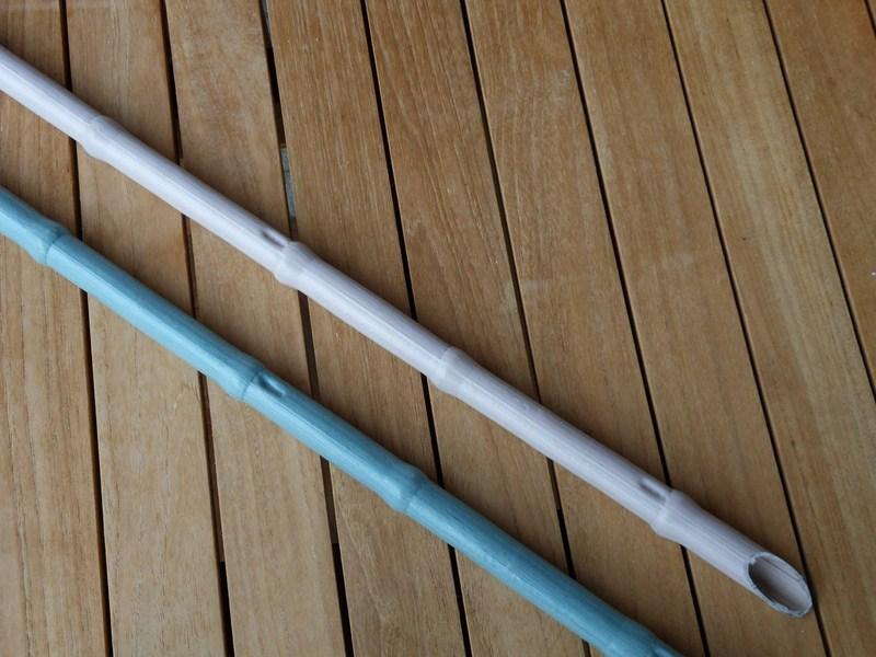 canna diametro 30 con nodo senza rinforzo