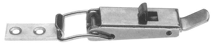 Chiusura a leva 60 mm con molla di sicurezza
