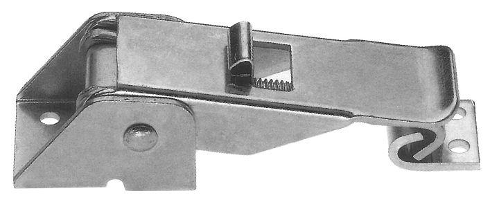 Chiusura a leva regolabile 72-84 mm. con molla di sicurezza