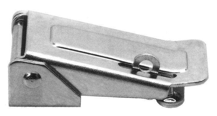 Chiusura a leva regolabile 88 mm per lucchetto