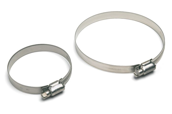 Fascetta in acciaio Inox AISI 304 W4 banda 12 mm