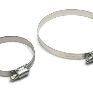 Fascetta in acciaio Inox AISI 316 W5 banda 12 mm