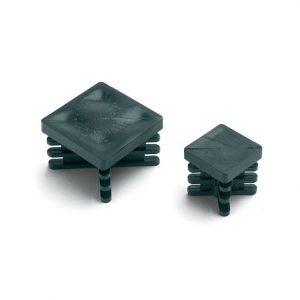 Puntale alettato quadrato