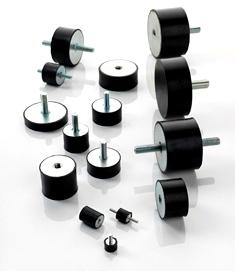 main Antivibranti cilindrici in acciaio zincato ACCESSORI